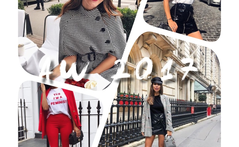 TRENDS OF AW2017