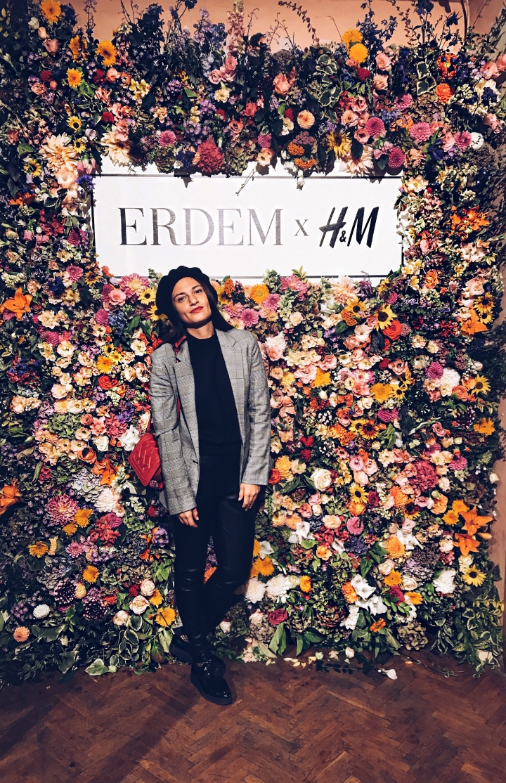 FIRST LOOK ERDEMxHM COLLAB