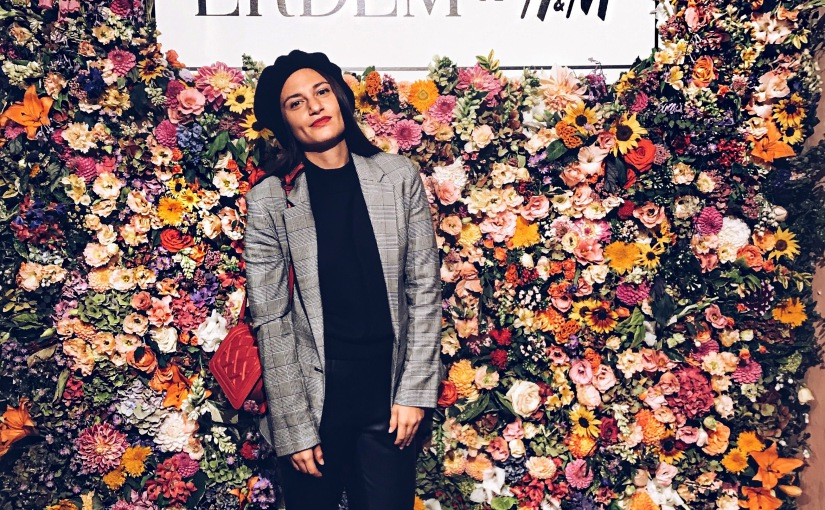 FIRST LOOK ERDEMxHMCOLLAB
