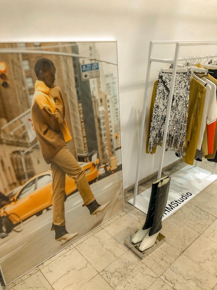 Открехване на завесата на есенната H&M Studioколекция